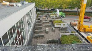 Dakbedekking project stadsschouwburg Nijmegen