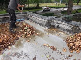 schoonmaken van daken