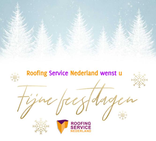 Fijne feestdagen namens Roofing Service