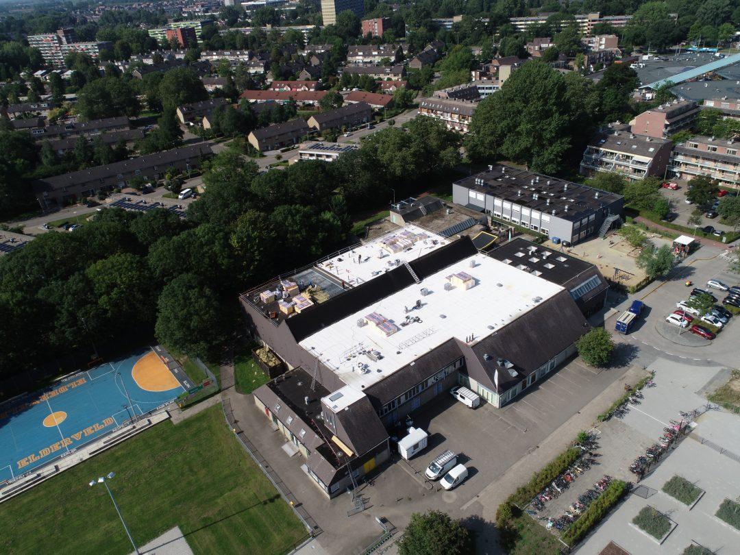 Sporthal Elderveld dak van het jaar